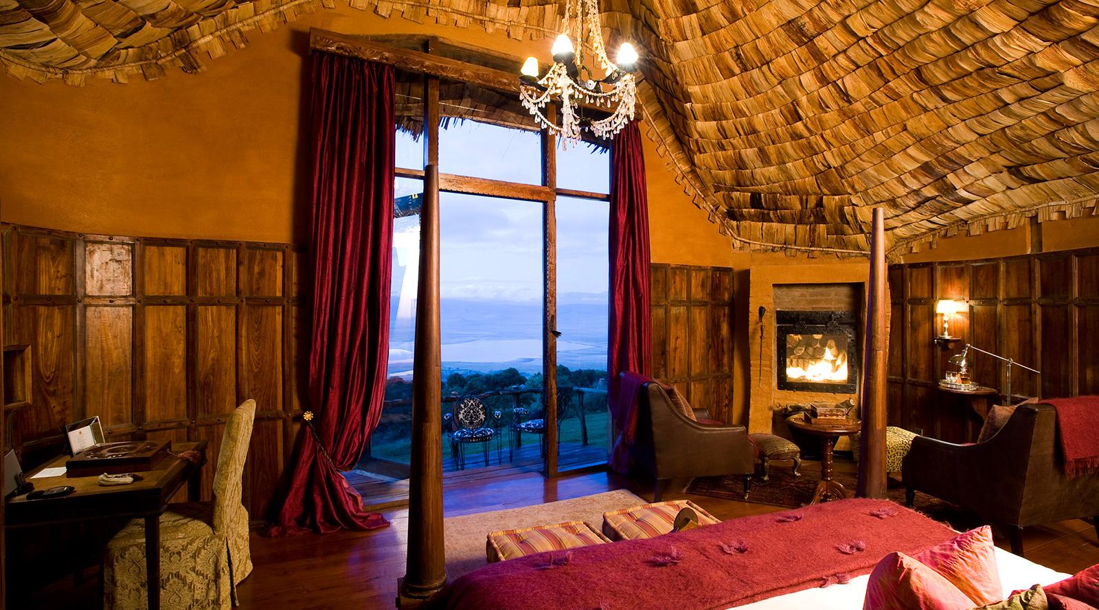 © &Beyond   Ngorongoro Crater Lodge, Tanzania