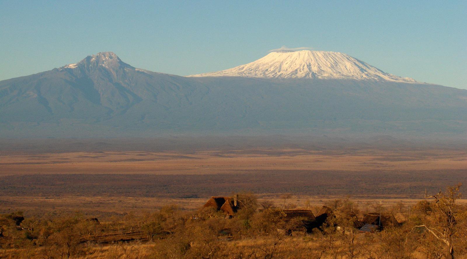 © Campi ya Kanzi | Campi Ya Kanzi, Monte Kilimanjaro, vista dal Kenya
