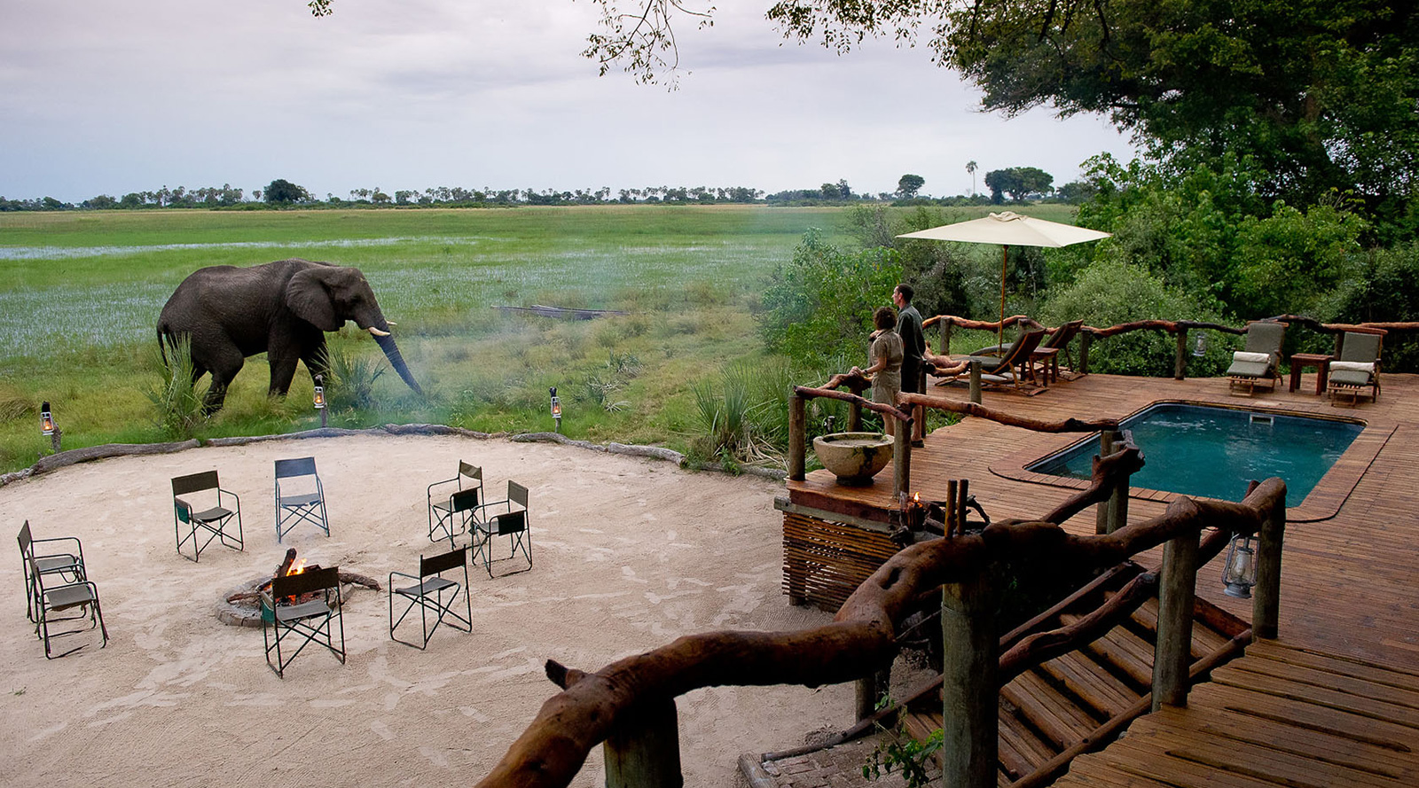 © Wilderness Safaris | Tubu Tree Camp, Botswana