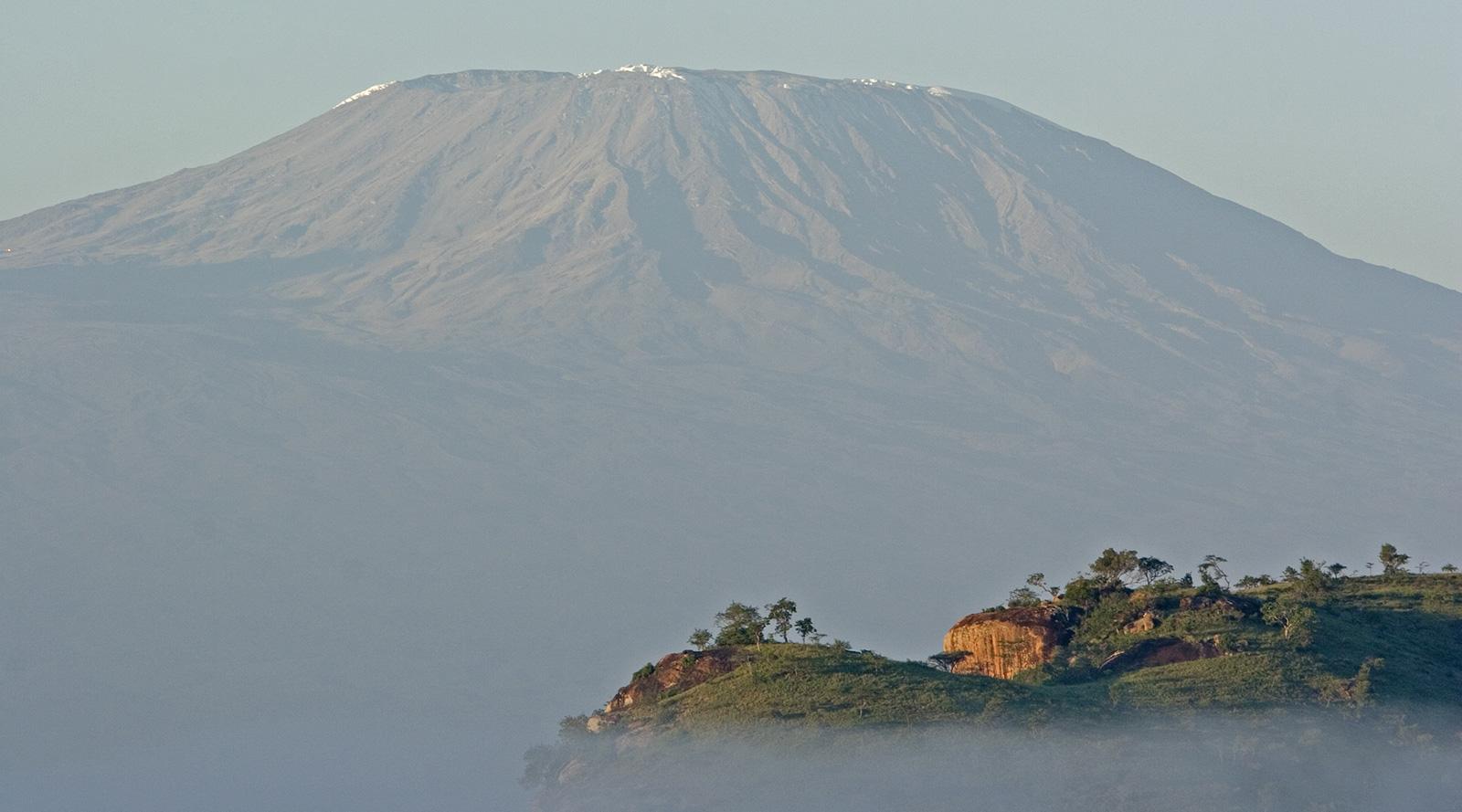 © Campi ya Kanzi | Campi ya Kanzi, Kilimanjaro visto dal Kenya